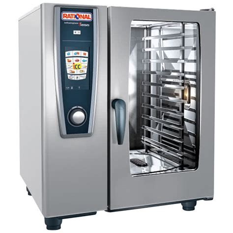 Oven Rational rational selfcookingcenter 5 senses model 101 a118206 27e combi oven with ten half size sheet