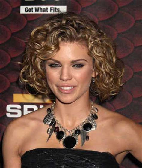 haircuts for thick curly hair and round faces 15 popular short curly hairstyles for round faces short