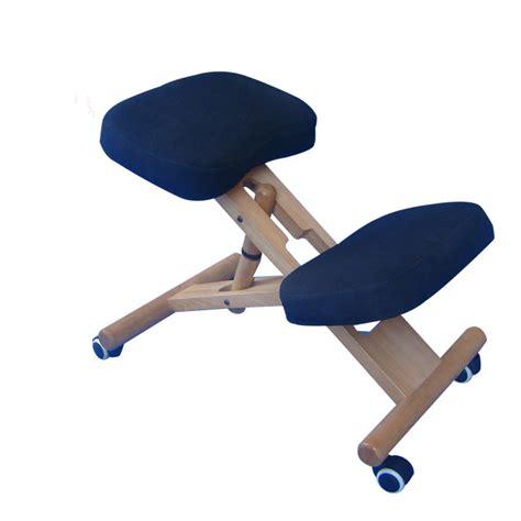 Kneeling Office Chair Design Ideas Ergonomically Designed Kneeling Chair Blue Fabric Cushion Modern Office Furniture Computer Chair