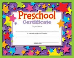 Preschool Graduation Certificate Template Free by Preschool Certificate 30 Pk T 17006