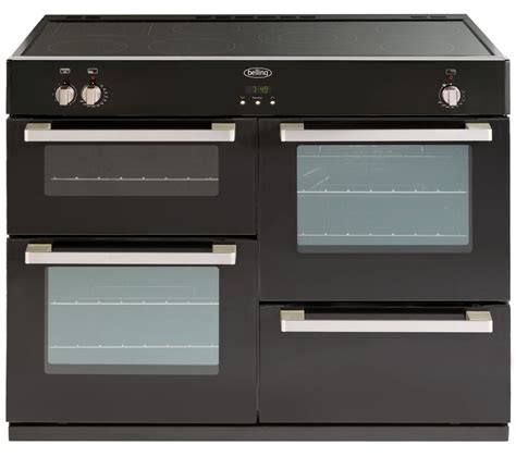induction electric cooker reviews belling db4 110ei electric induction range cooker black