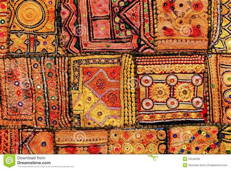 indian patchwork carpet stock photography image 24546332