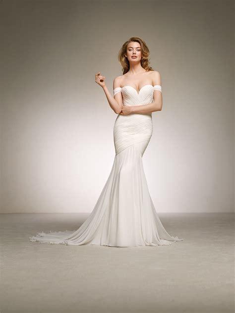 Goddess Style Wedding Dresses by Goddess Wedding Dress Darlene Pronovias 2018