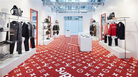 supreme resellers resellers pounce on supreme louis vuitton collaboration