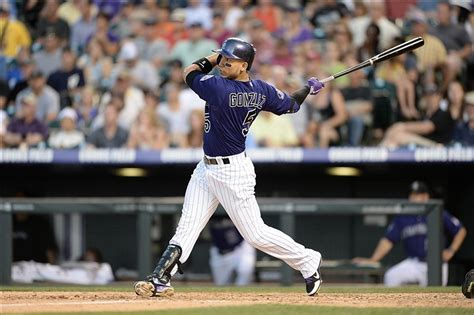 carlos gonzalez swing carlos gonzalez weighing fantasy good and bad of rockies star