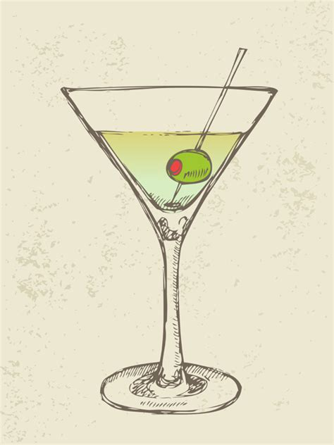 retro cocktail vintage martini wallpaper
