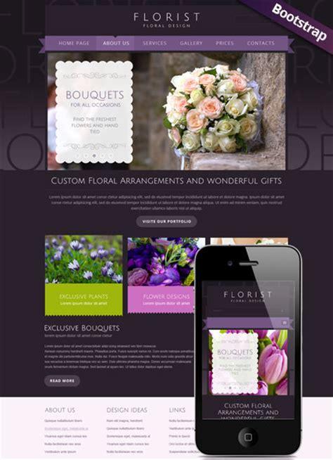 florist bootstrap template id 300111739 from simavera com