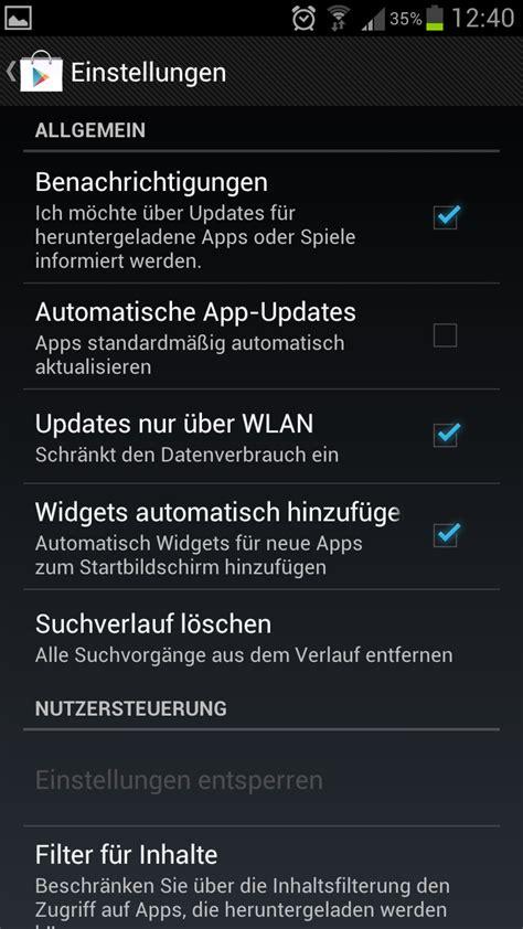 samsung galaxy s3 automatische updates f 252 r apps deaktivieren
