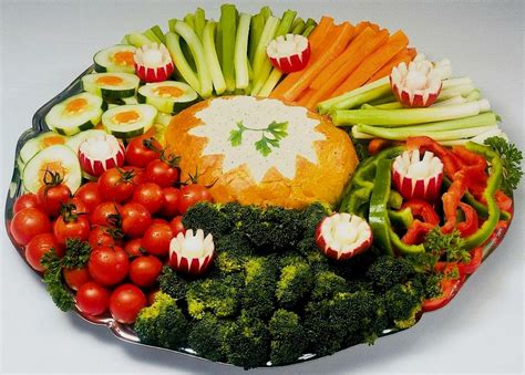 veggie tray from corkys catering in chicago il 60622