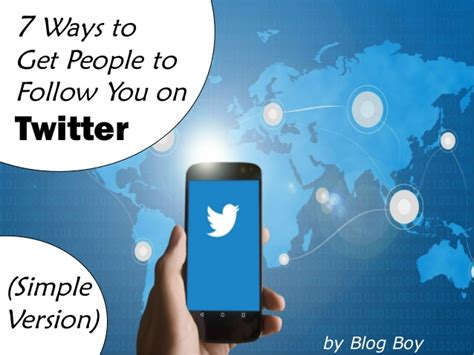7 Ways To Get More Followers On by 7 Ways To Get To Follow You On