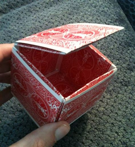 how to make a box out of card template make a box from cards organize boxes baskets