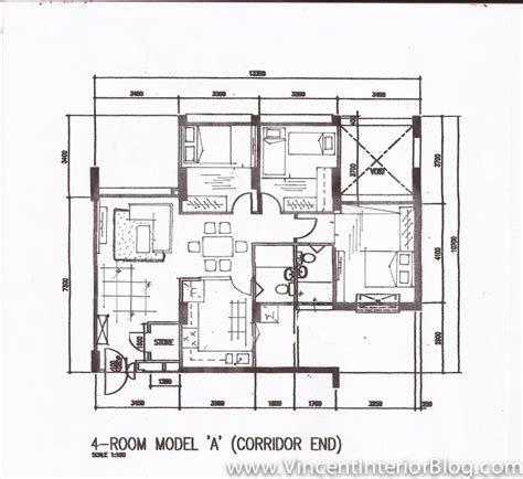 Shop Plans With Living Space woodland 4 room hdb renovation by behome design concept