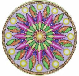 colored mandala 7th rybg mandalas