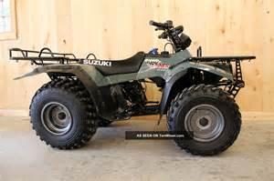 1995 Suzuki Quadrunner 250 4x4 1997 Suzuki Lt 4wd 250 Quadrunner
