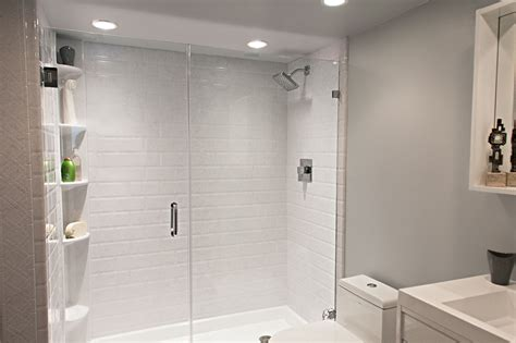 acrylic showers maax allia 1 piece acrylic shower wseat