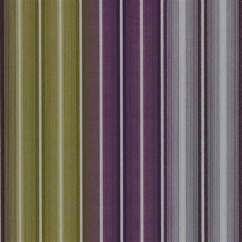 Show Home Interiors Uk jolie stripe wallpaper aubergine lime neutral 15319