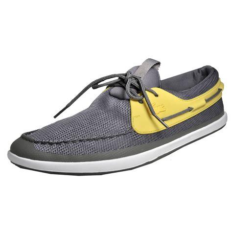 boat shoes designer lacoste landsailing 116 mens classic casual designer boat