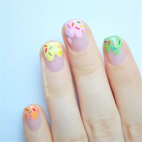 nail art ice cream tutorial 23 designs to get inspired for painting pastel nails