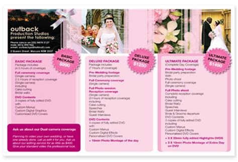 Wedding Fair Brochure by Emotio Douchearchives