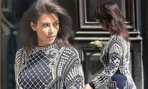 kim k hairdryer kim kardashian reveals new short hair daily mail online