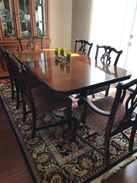 drexel travis court dining table i a my grandmother s drexel travis court dining table