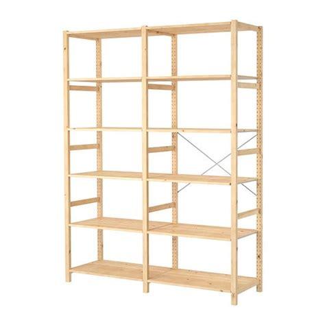 wood shelves ikea ivar 2 sections shelves ikea