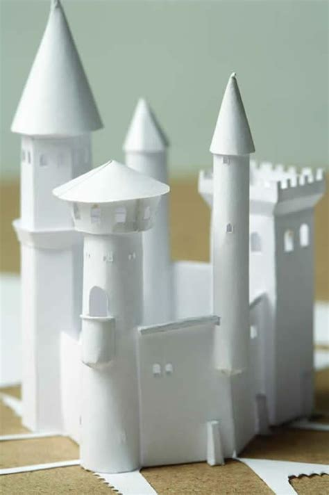 How To Make A Castle Out Of Paper -