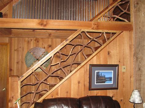 Custom Banisters by Handmade Mountain Laurel Interior Railing With Distressed