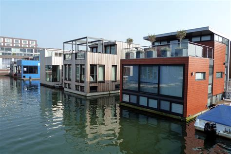 floating homes water rowhomes amsterdam buzzbuzzhome news