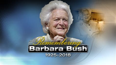 Barbara Bush Gets Robbed by Live Remembering Barbara Bush