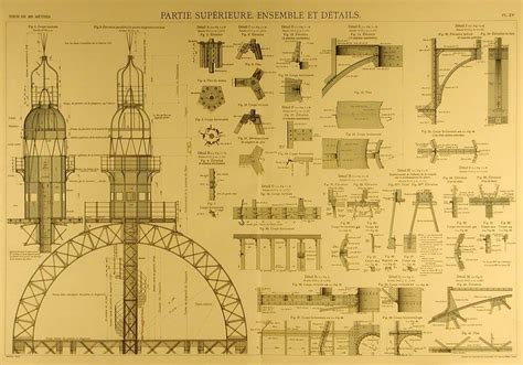 eiffel tower floor plan blueprints of the eiffel tower arkinet