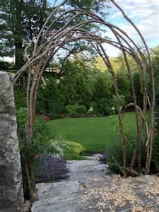 How To Build A Arbor Trellis How To Build A Rustic Trellis Ellen Ecker Ogden