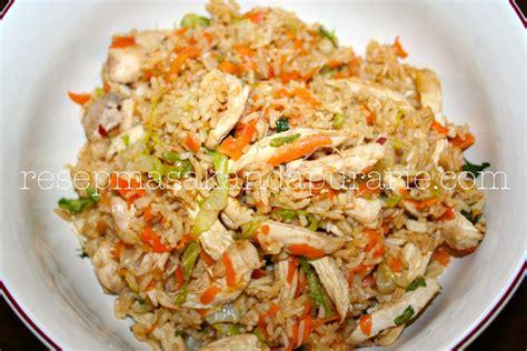 resep membuat nasi goreng vegetarian resep cara membuat nasi goreng ayam sederhana resep