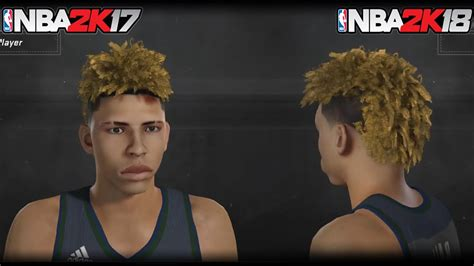 hairstyles nba 2k18 nba 2k17 the ball brothers cyberface face scanned into the