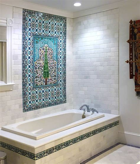 bathroom mural ideas bathroom tile mural room design ideas