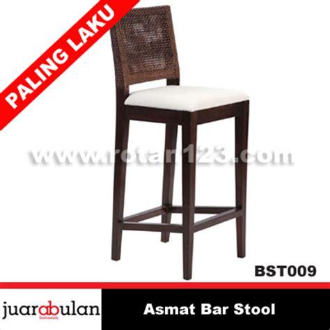 Gambar Dan Kursi Rotan harga jual asmat bar stool kursi bar rotan alami model