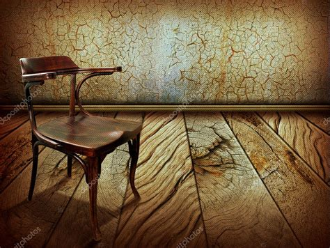 old vintage images vintage chair on old wooden floor antique background