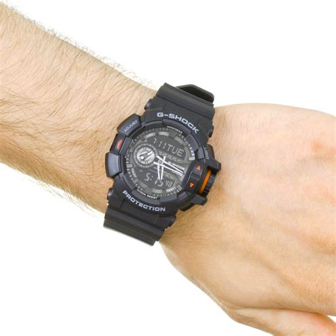 Casio Ga 400 1b gents casio g shock alarm chronograph ga 400 1ber