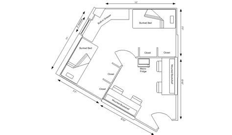 ohio university floor plans morrill tower residence halls university housing