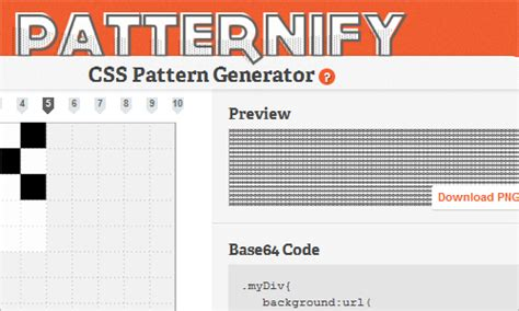 css pattern generator base64 powerful new css techniques and tools smashing magazine