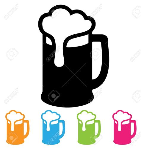 beer glass svg beer mug logo clip art 89