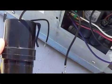 rv air conditioner run capacitor installing start capacitor into my rv air conditioner