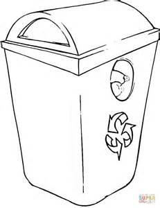 coloriage poubelle de recyclage coloriages 224 imprimer