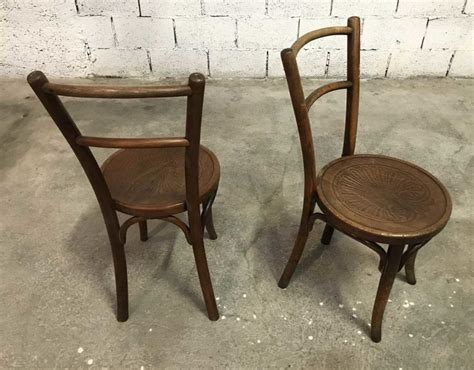 chaise baumann prix ensemble de 6 chaises baumann assise ronde 1930