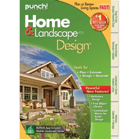 best software for free punch home landscape