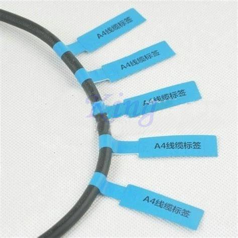 Cable Ties With Label Tag Pengikat Kabel Dg Label Tag 25 X 110 Mm popular network cable labels buy cheap network cable