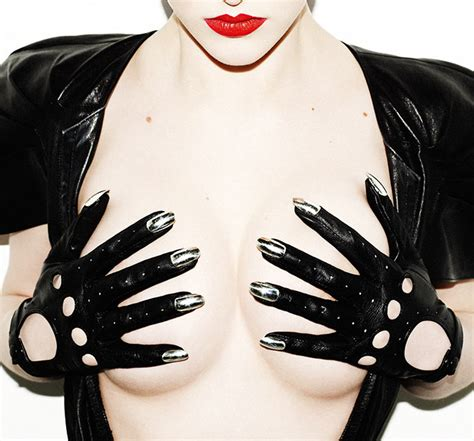 2 Die 4 Dominic Jones Gold Nails Gloves by If It S Hip It S Here Archives Leather Gloves With A