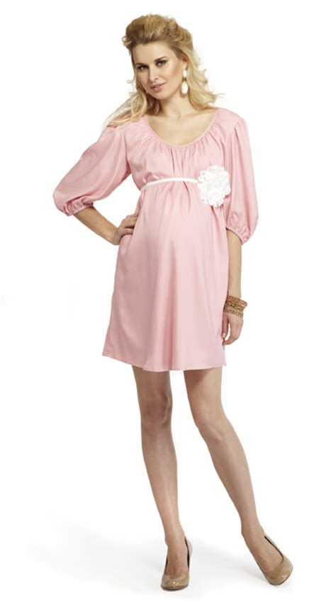 Pink Baby Shower Maternity Dresses by Pink Maternity Dress Dressed Up