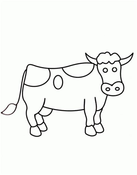 imagenes para dibujar vacas vaca dibujo facil imagui