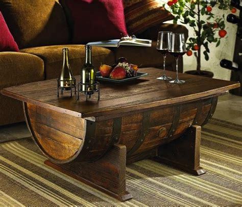 Diy Wine Barrel Coffee Table Do It Yourself Fun Ideas How To Make A Wine Barrel Coffee Table